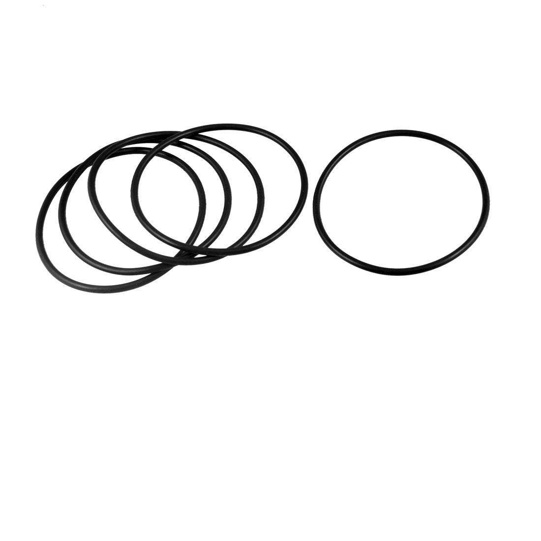 5 Pcs Industrial Rubber O Ring Oil Sealing Gasket 92mm x 3.1mm