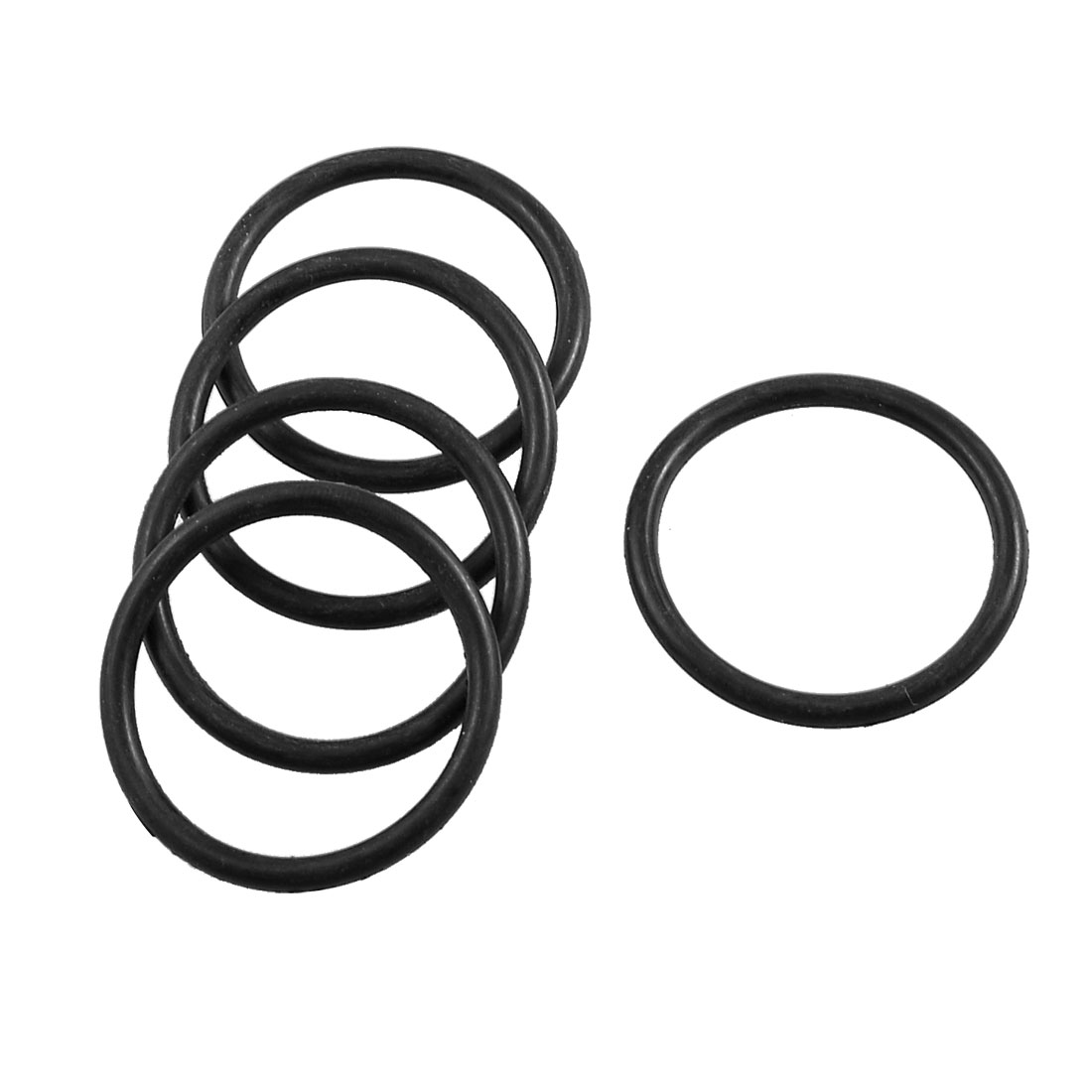 5 Pcs Mechanical Rubber Sealing Oil Filter O Rings Gaskets 41mm x 34mm x 3.5mm