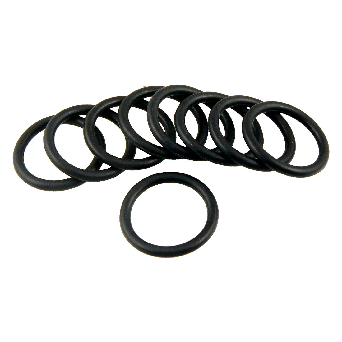 10 Pcs Black 35mm OD 4mm Thickness Nitrile Rubber O-ring Oil Seal Gaskets
