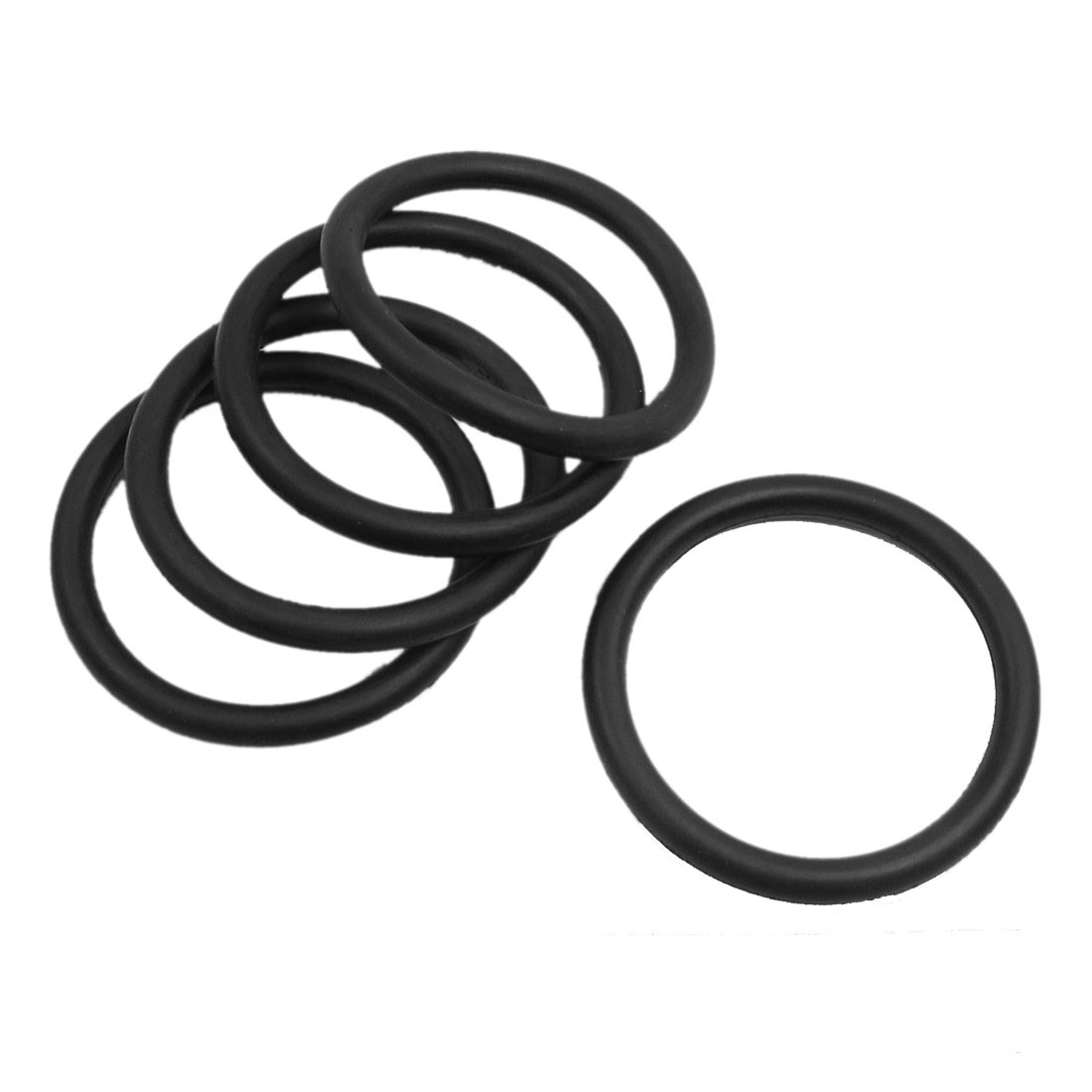 5 Pcs 50mm Outside Dia 5mm Thick Sealing Washers Oil Filter O Rings