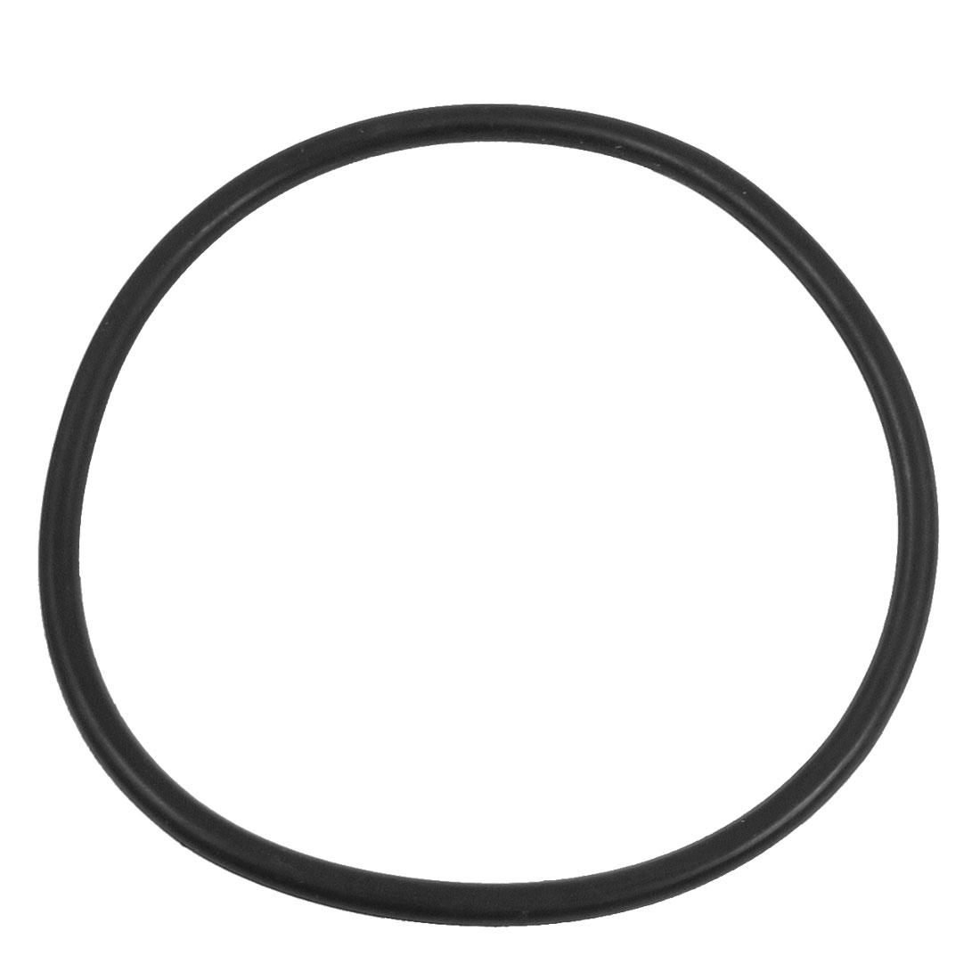 110mm x 5mm Black Rubber Industrial Flexible O Ring Seal Washer