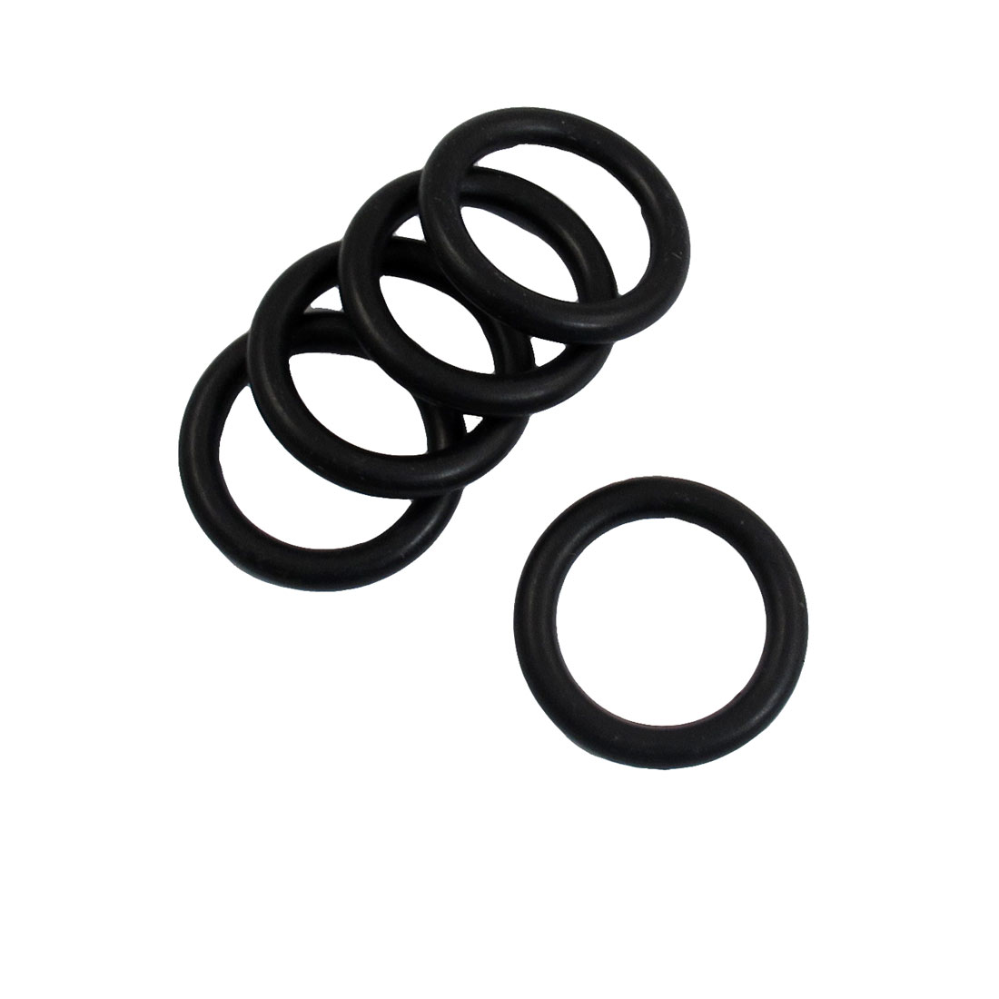 5 Pcs 35mm x 5mm Black Rubber Sealing Oil Filter O Rings Gaskets