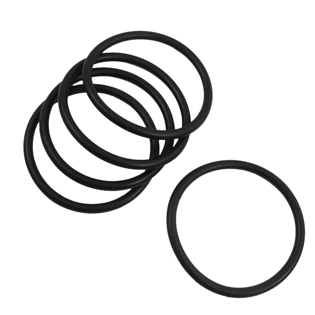 5 Pcs 70mm Outside Dia 5mm Thick Sealing Oil Filter O Rings Gaskets