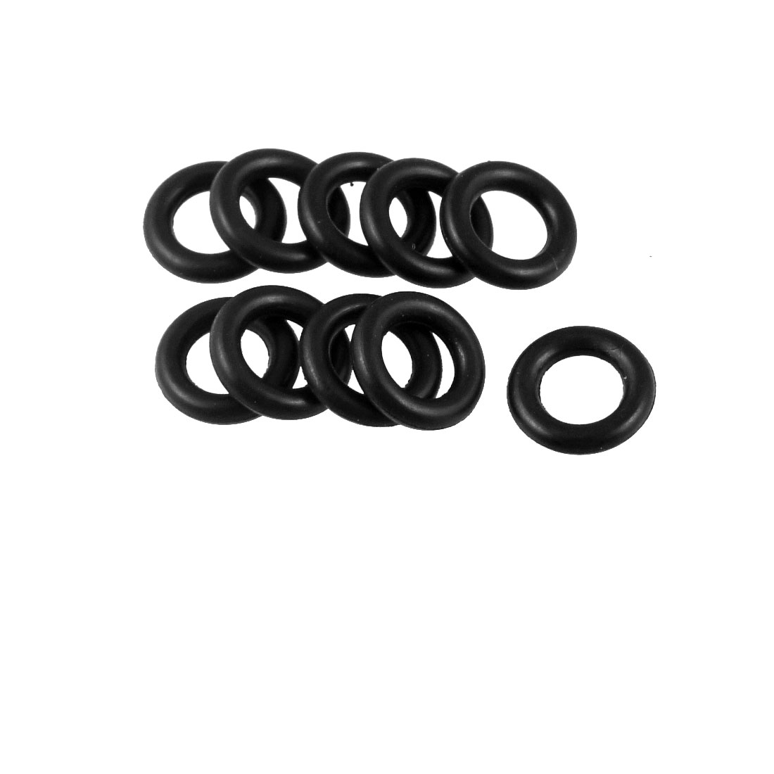 10 Pcs 11mm x 2mm Rubber Sealing Oil Filter O Rings Gaskets
