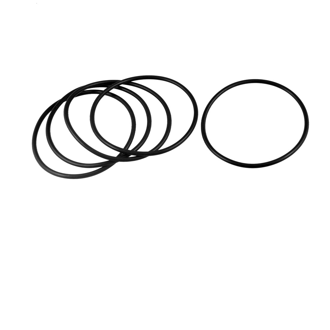 5 Pcs Nitrile Rubber O Ring Oil Sealing Gasket Black 90mm x 4mm