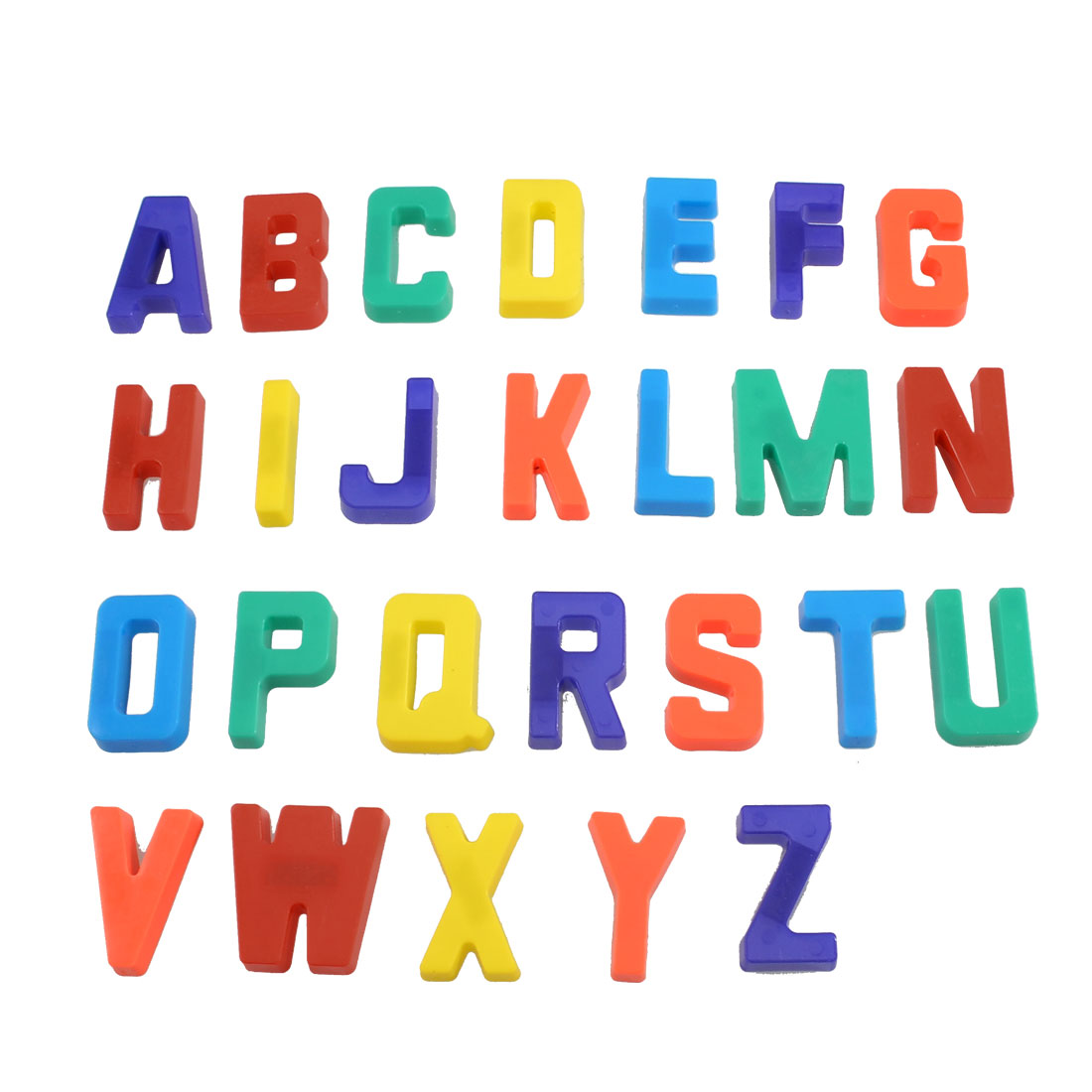 26 Pcs Magnetic Base Plastic English Letters Alphabet Fridge Stickers