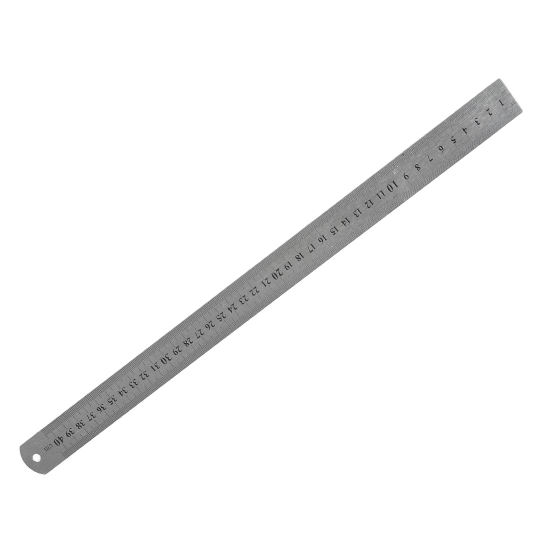 Stainless Steel 16 Inch Straight Ruler Measuring Kit Metric 40cm