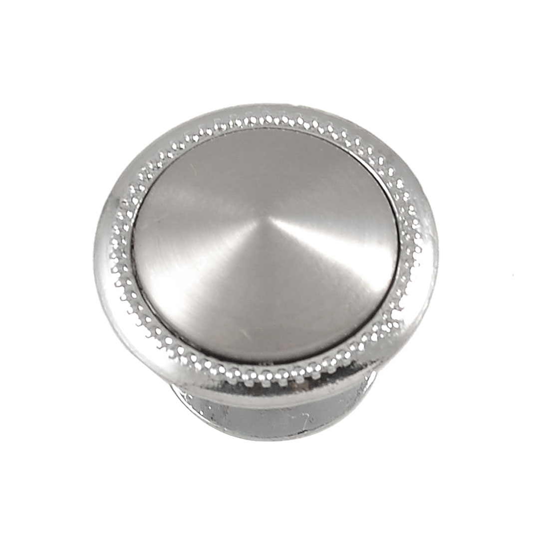 Embossed Dots Kitchen Cabinet 28mm Metal Round Door Pull Knob