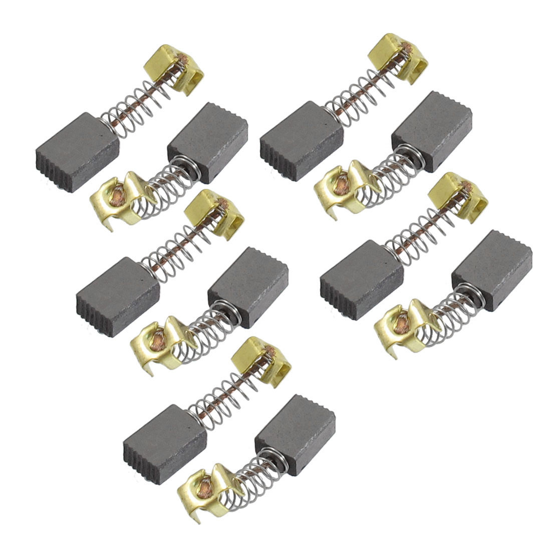 "10 Pcs Electric Motor Replacement 1/2"" x 3/13"" x 5/32"" Carbon Brushes"