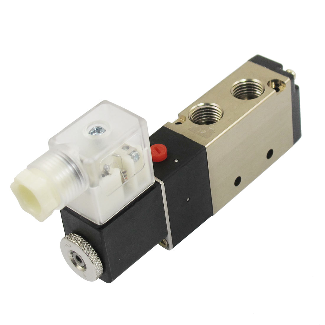"DC 12V 3W 250mA 2 Position 5 Way Pneumatic Electromagnetic Solenoid Valve G1/8"" G1/4"""