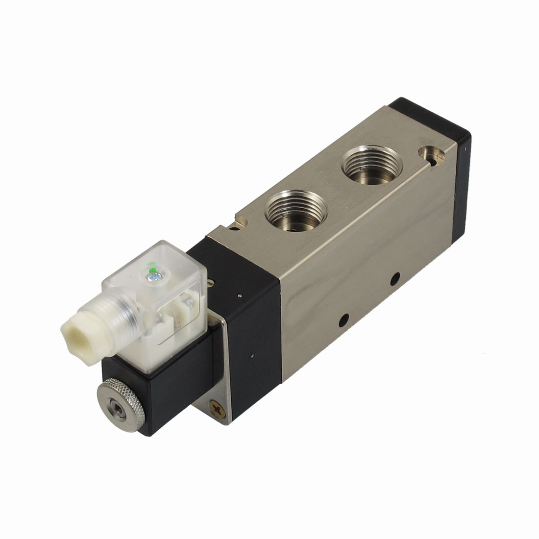 "DC 24V 3W 125mA 2 Position 5 Way G1/2"" Exhaust Pneumatic Electromagnetic Solenoid Valve"