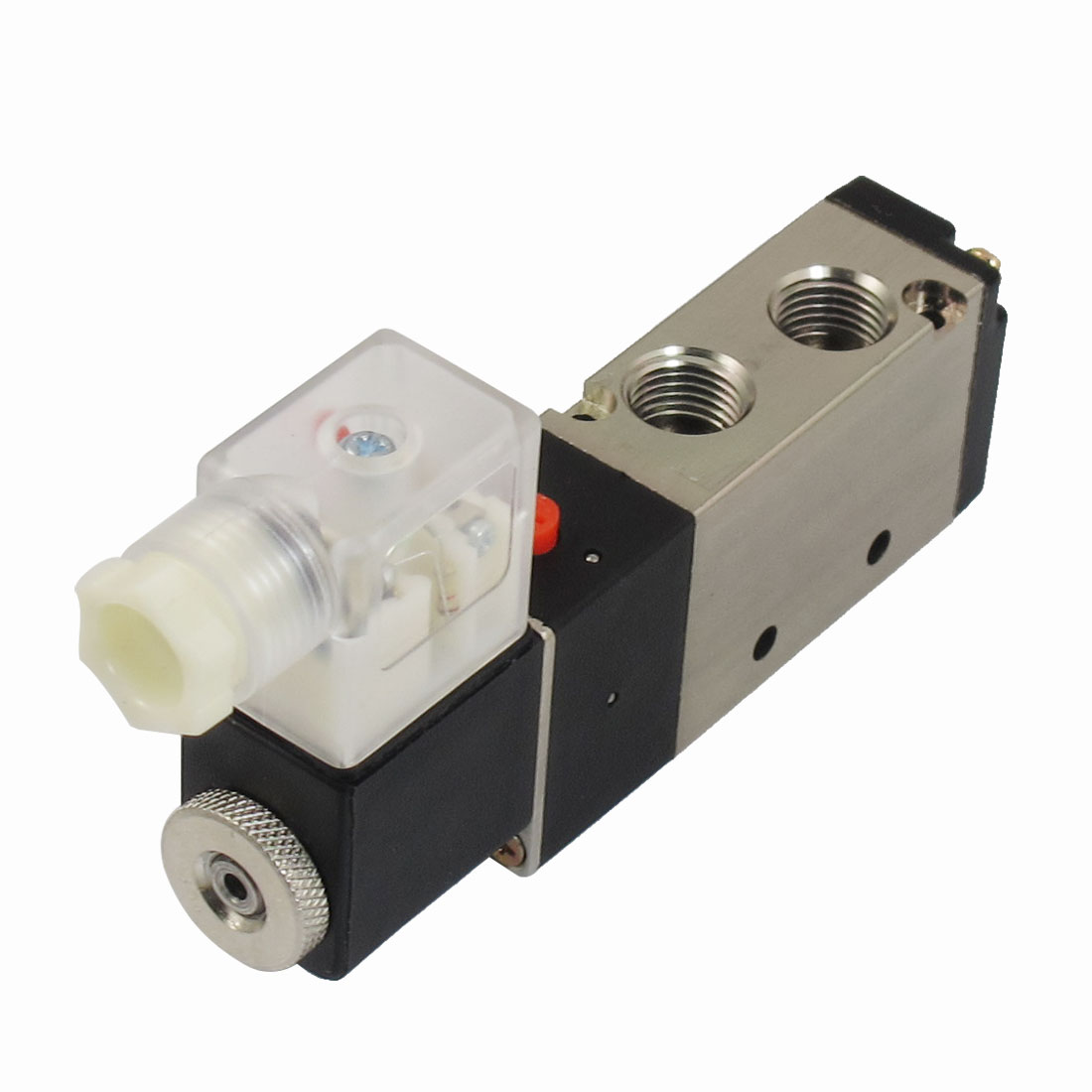 AC 220V 2 Position 5 Way Pneumatic Electromagnetic Solenoid Valve G1/4""