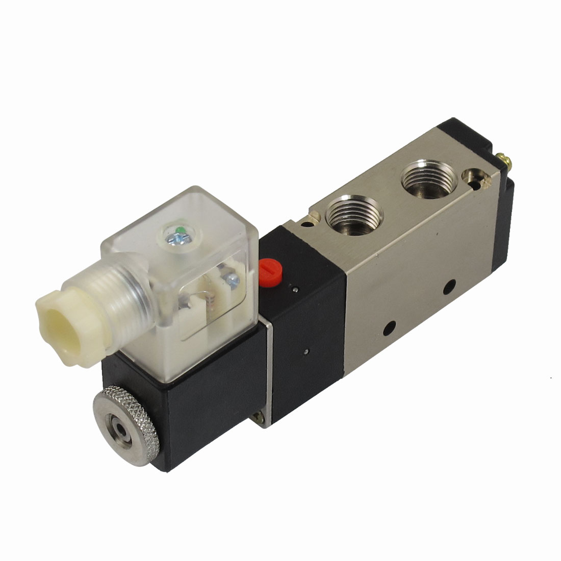DC 24V 3W 125mA 2 Position 5 Way Pneumatic Electromagnetic Solenoid Valve G1/4""
