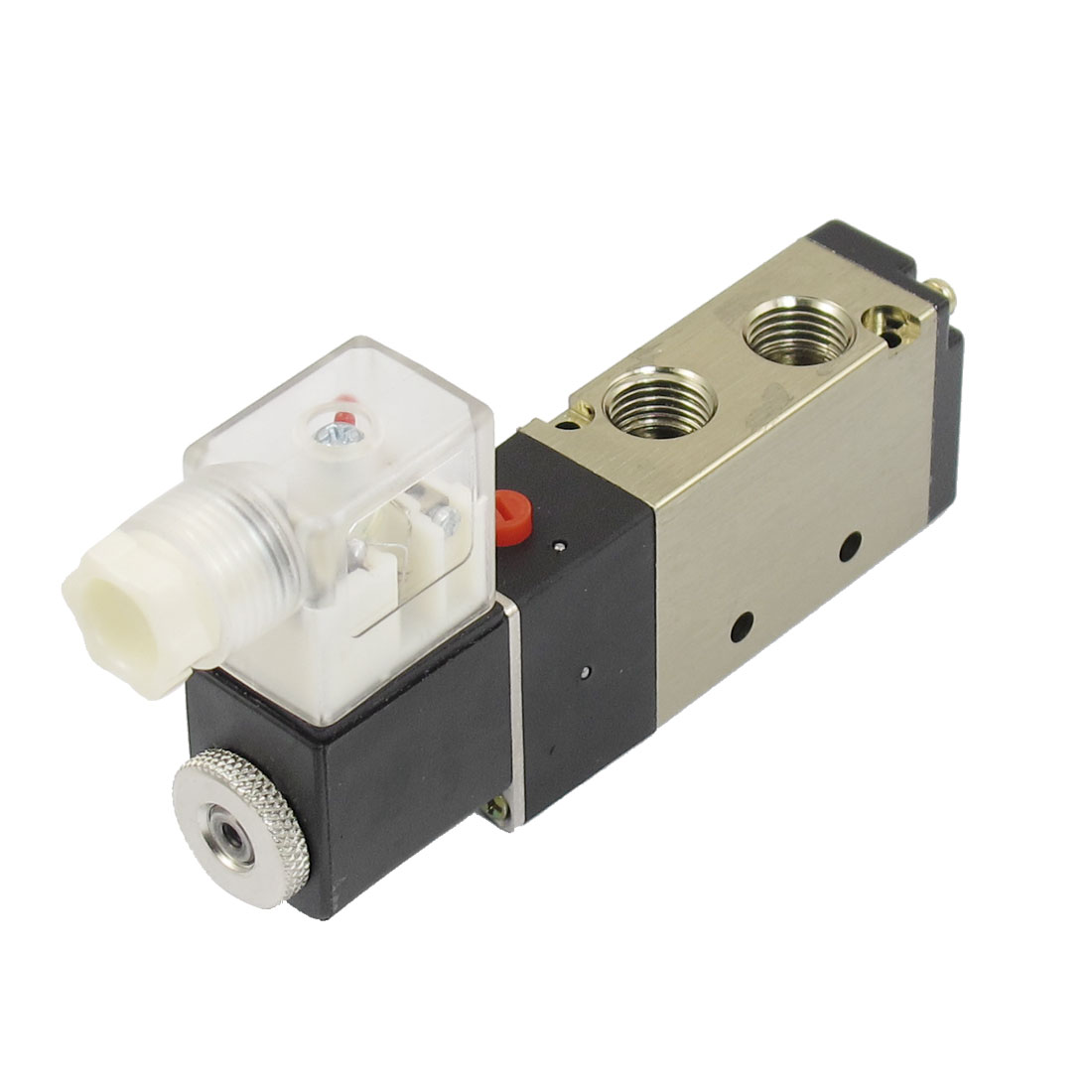 AC 110V 25mA 4.5VA 2 Position 5 Way Pneumatic Electromagnetic Solenoid Valve G1/4""
