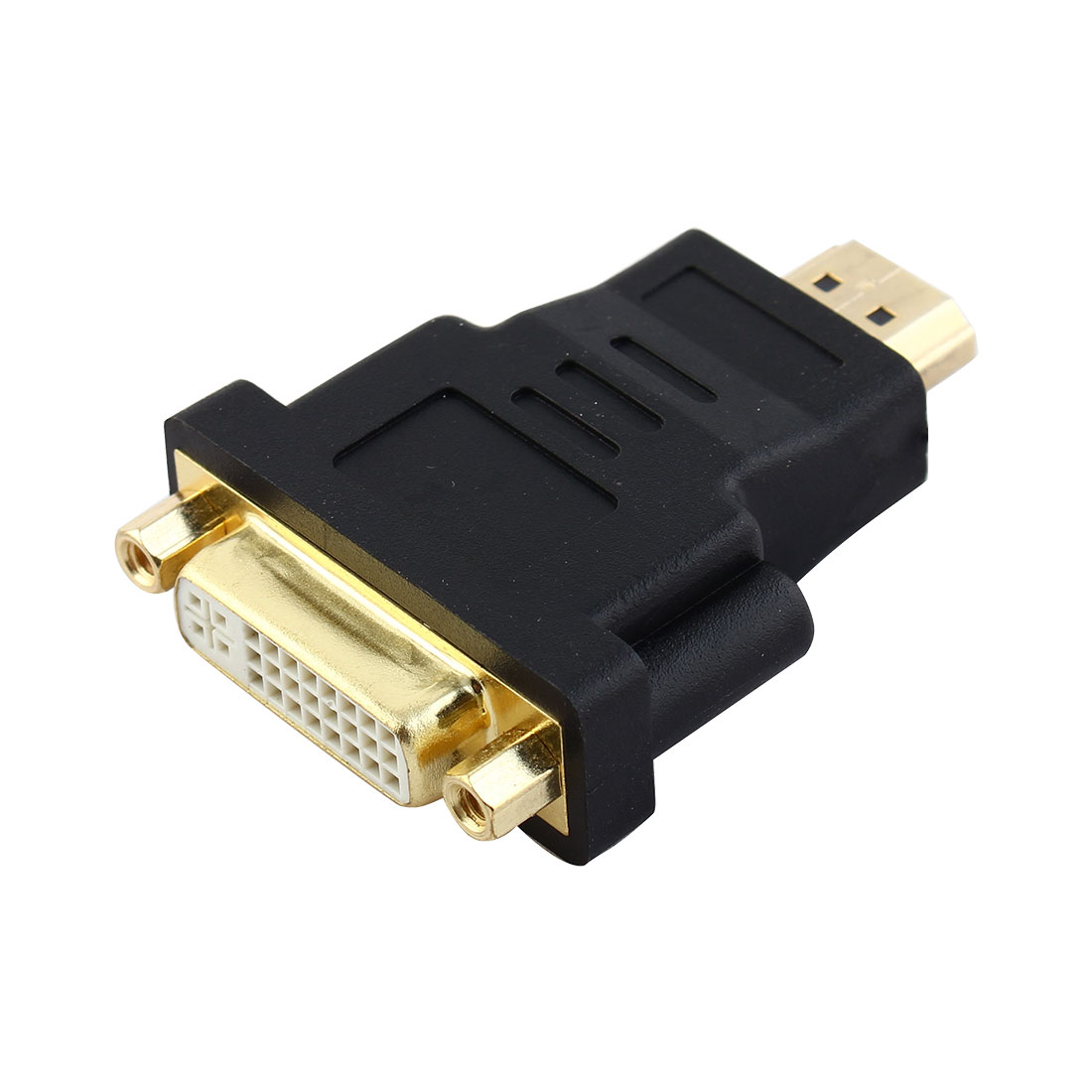 DVI-I Dual Link 24+5 Female to HDMI 19 Pin Male Video Adapter Connector
