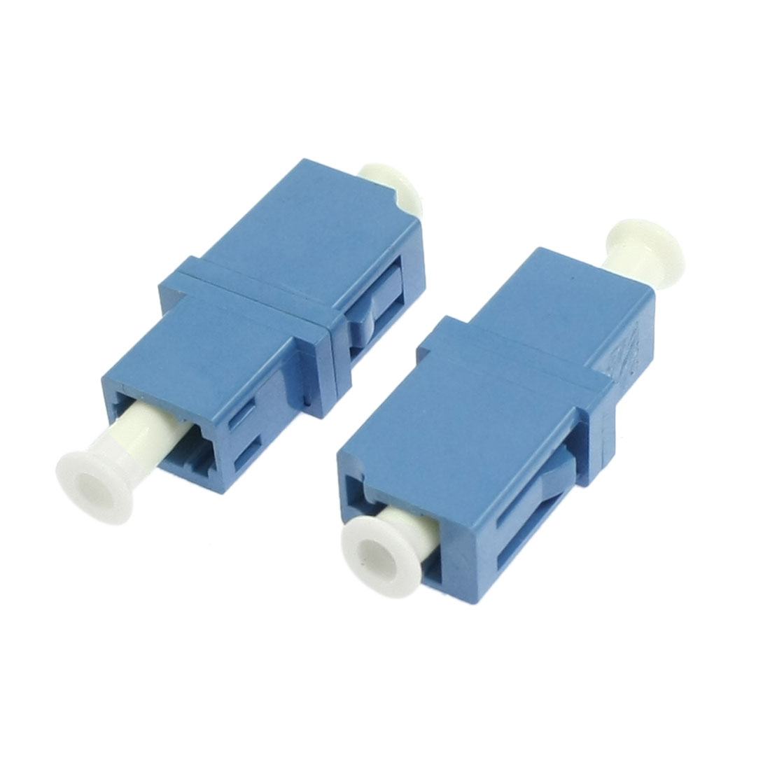 LC to LC Flange Fiber Optic 5 DB Attenuator Connector Adapter Coupler 2Pcs