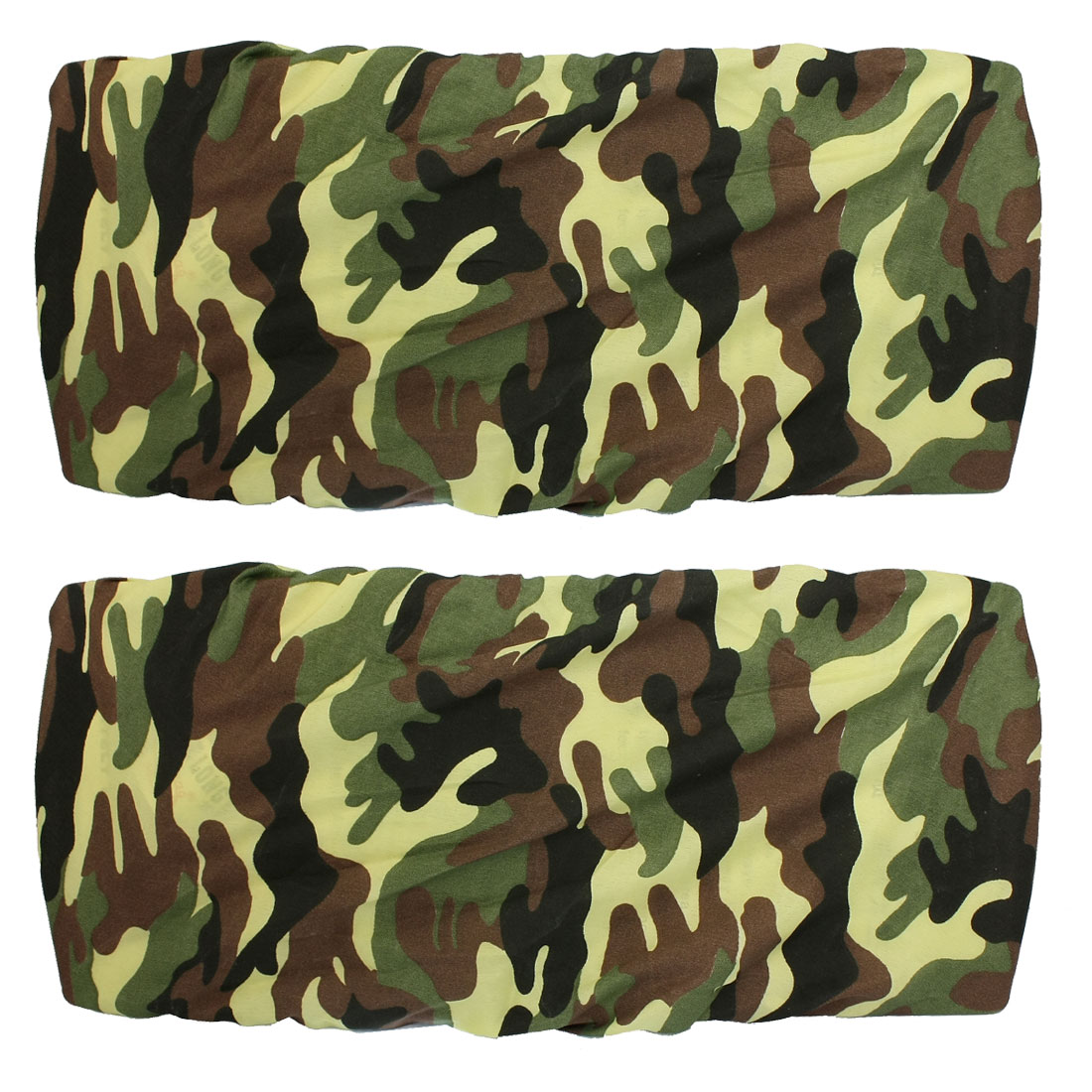 2 Pcs Auto Car Camouflage Anti Dust License Plate Cover Shield