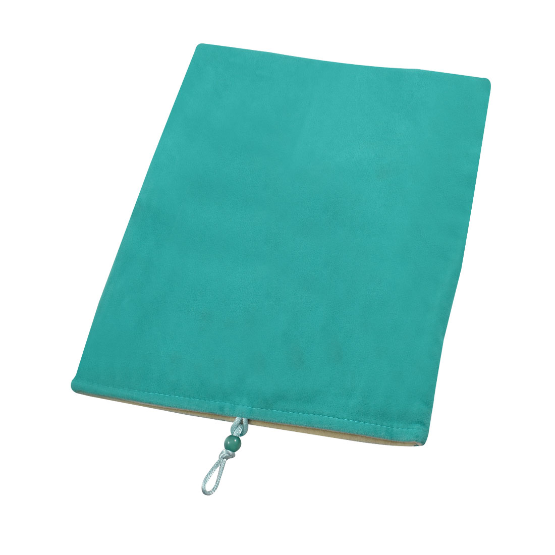 "Turquoise Flannel Rectangle Shaped Pouch Case for 9.7"" 10"" Tablet PC"