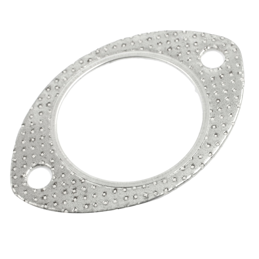 Silver Tone 62mm Inner Dia Universal Exhaust Flange Gasket for GM