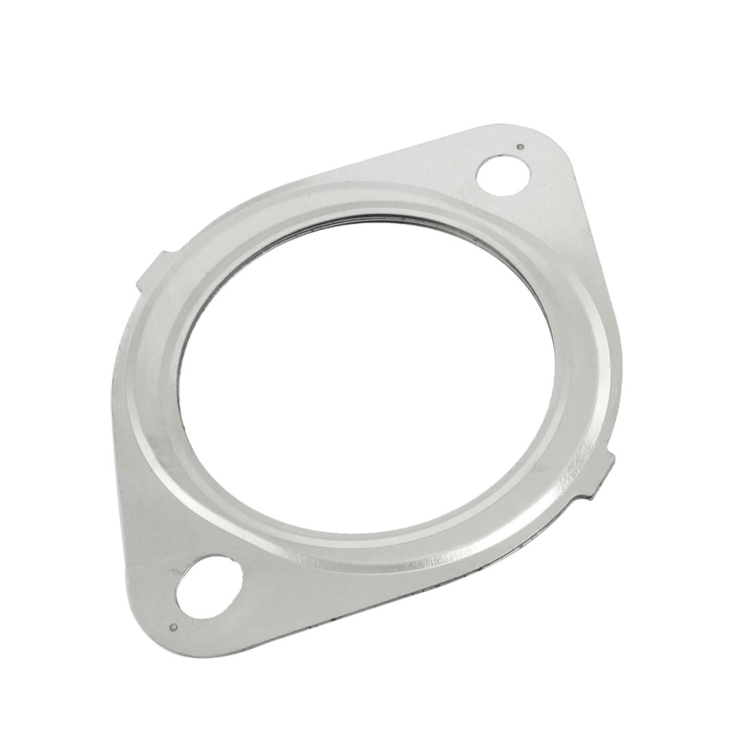 Silver Tone 71mm Inner Dia Universal Exhaust Flange Gasket for Nissan