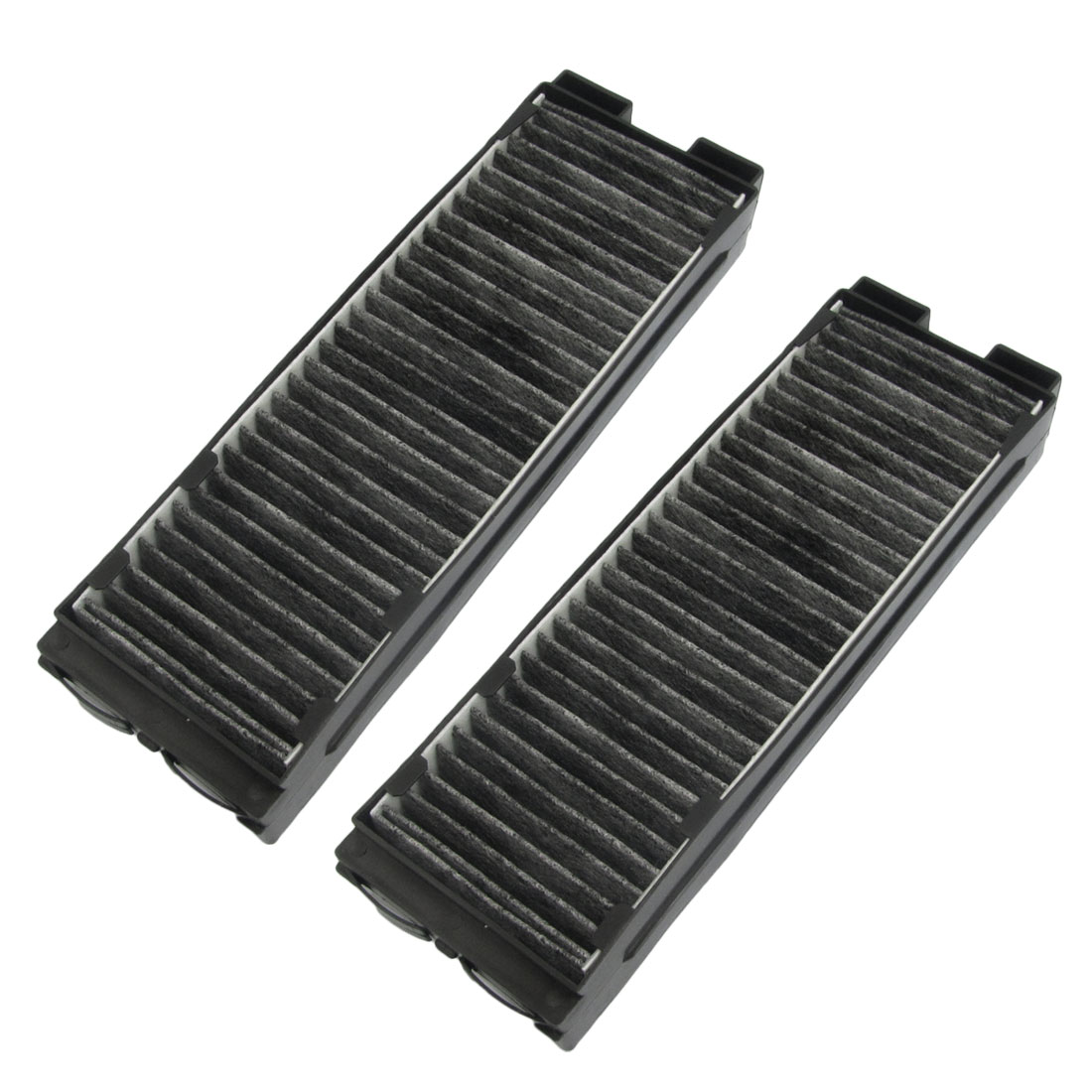 Black Activated Carbon Fiber A/C Cabin Air Filter Set for Nissan Cefiro A32