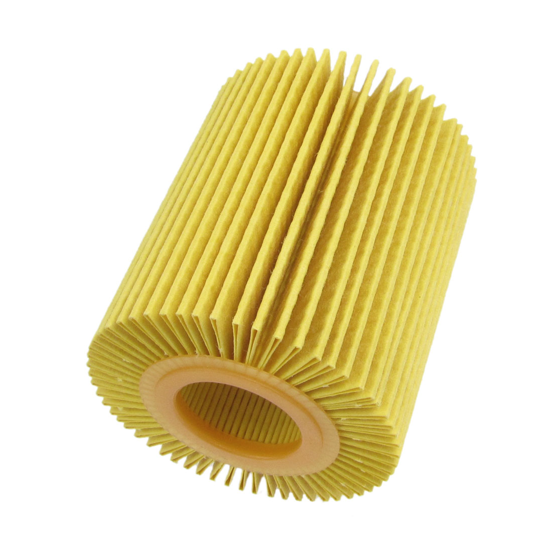 Car Engine Cartridge Oil Filter Yellow w Seal Ring for Lexus ES350 IS250