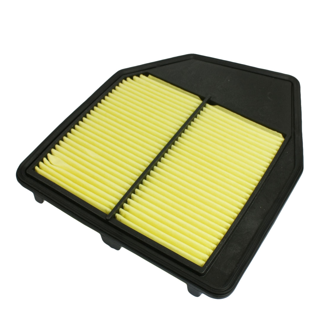 Auto Truck Car Engine Cleaner Air Filter Black Yellow New