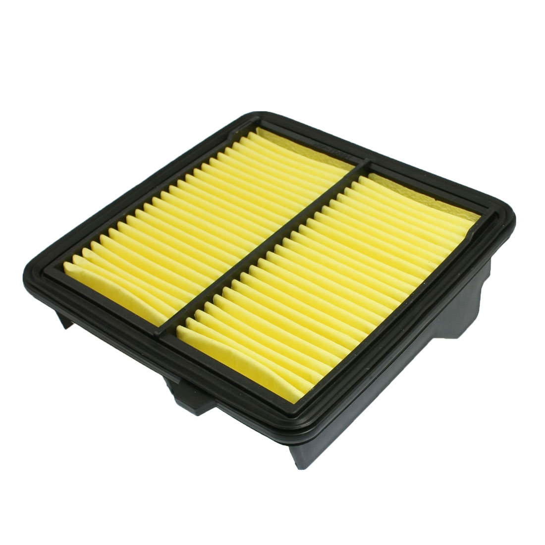 Auto Cars Vehicles Air Filter Cleaner Black Yellow