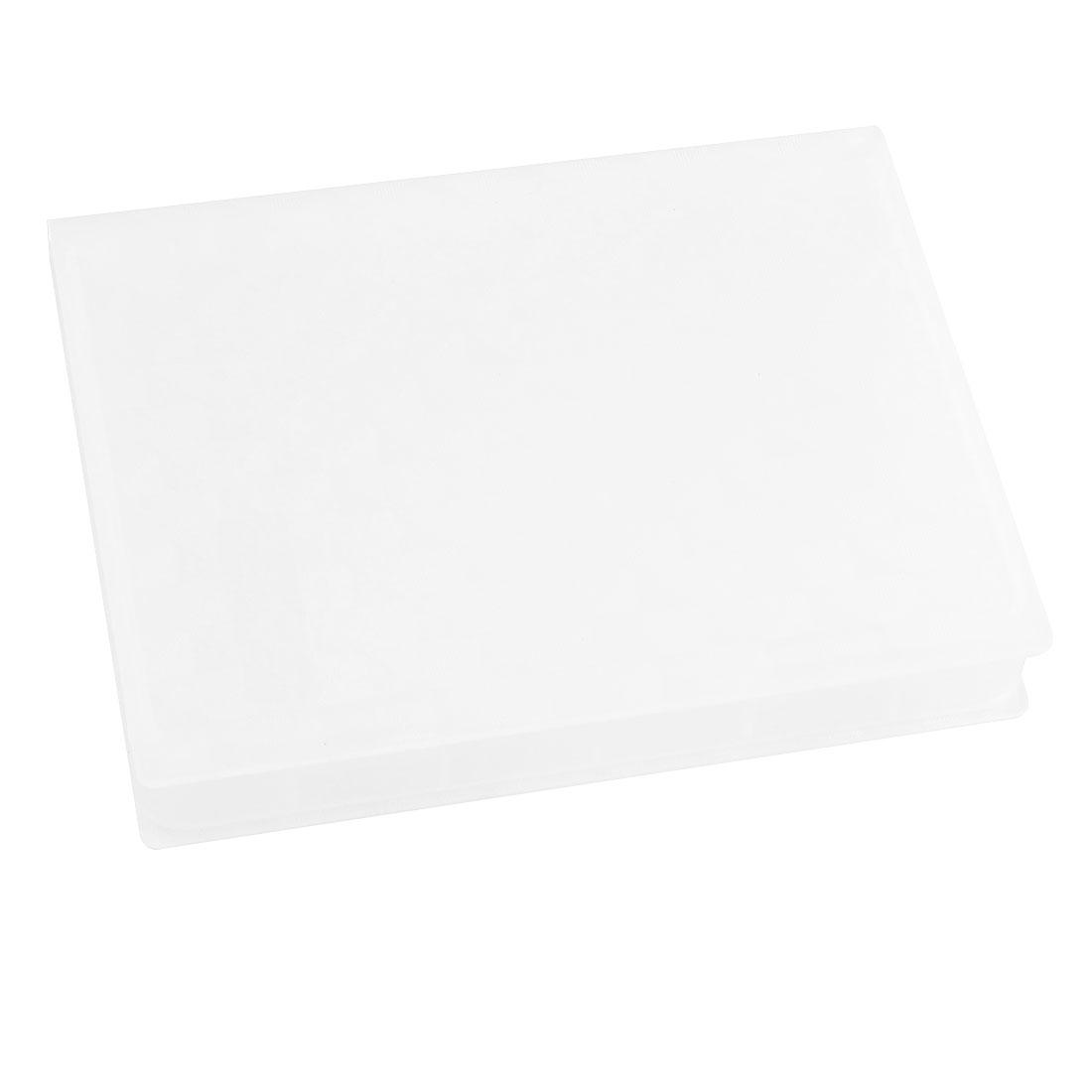 White Plastic 2.5 Inch IDE SATA Hard Drive HDD Store Tank Case Box