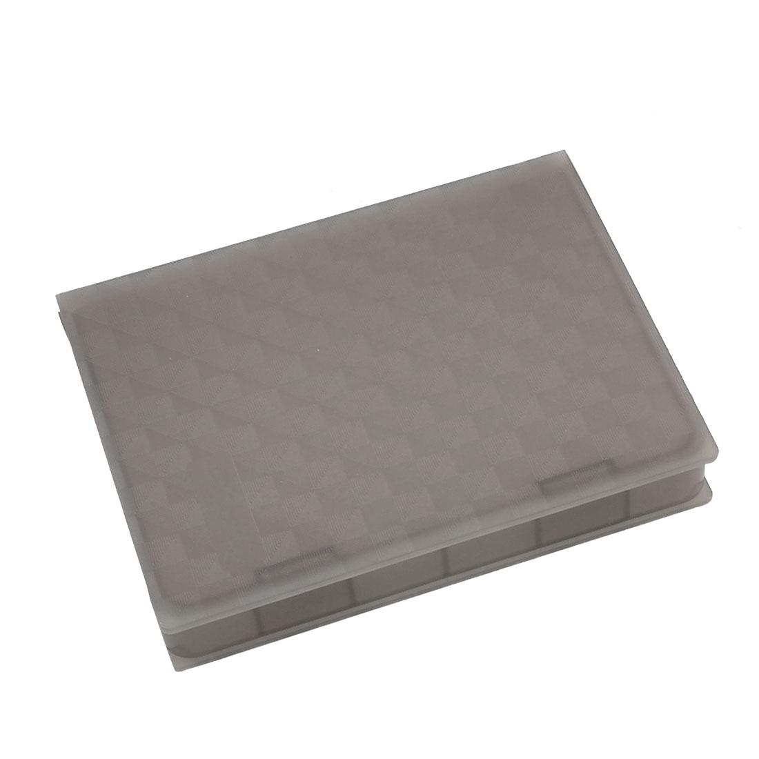 Gray Plastic 2.5 Inch IDE SATA Hard Drive HDD Store Tank Case Box