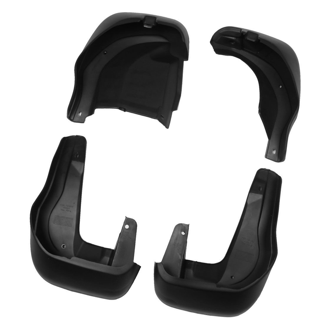 Front Rear Full Pairs Mudguard Splash Guards Mud Flaps New