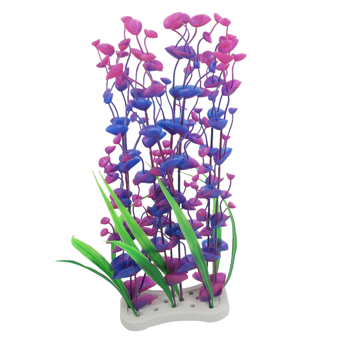 "13.8"" Height Artificial Multicolor Plants Aquarium Aquascaping Tank Decor"