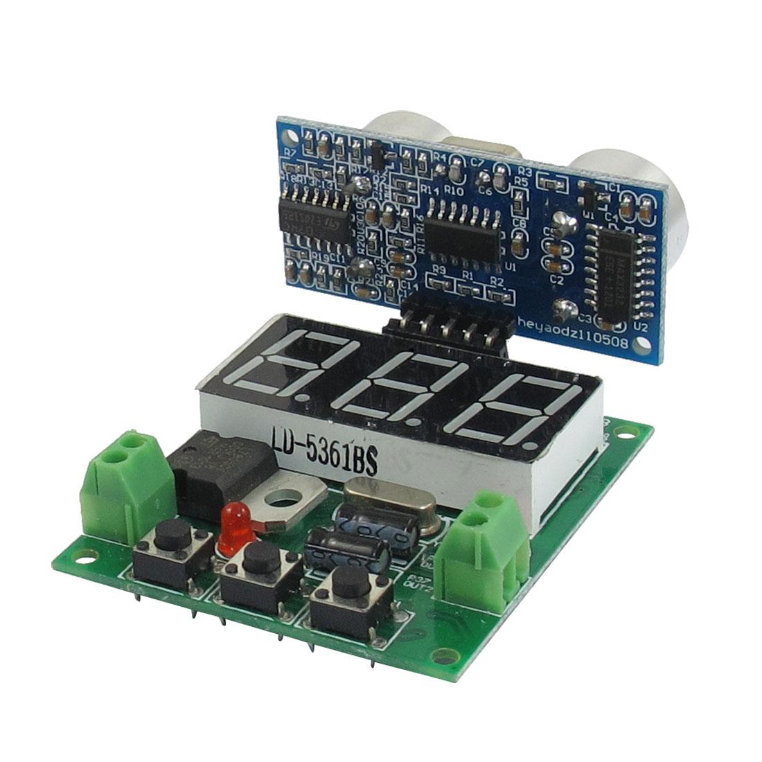 DC 5V 15mA 3cm-350cm Distance Ultrasonic Wave Sensor Module SRF05/DYP-ME008