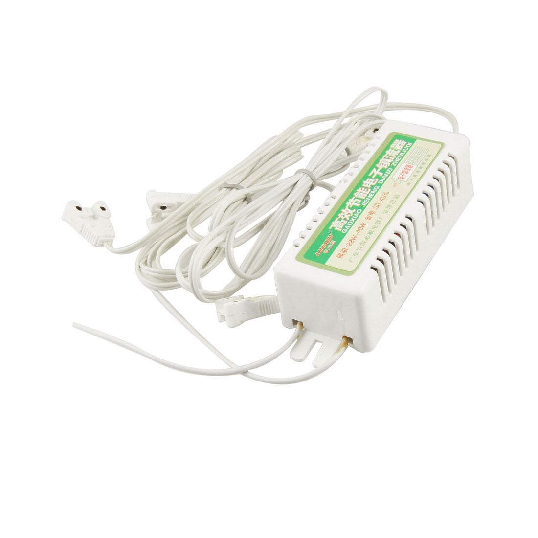 22-40W 220V Energy Saving Metal Fluorescent Lamp Ballast