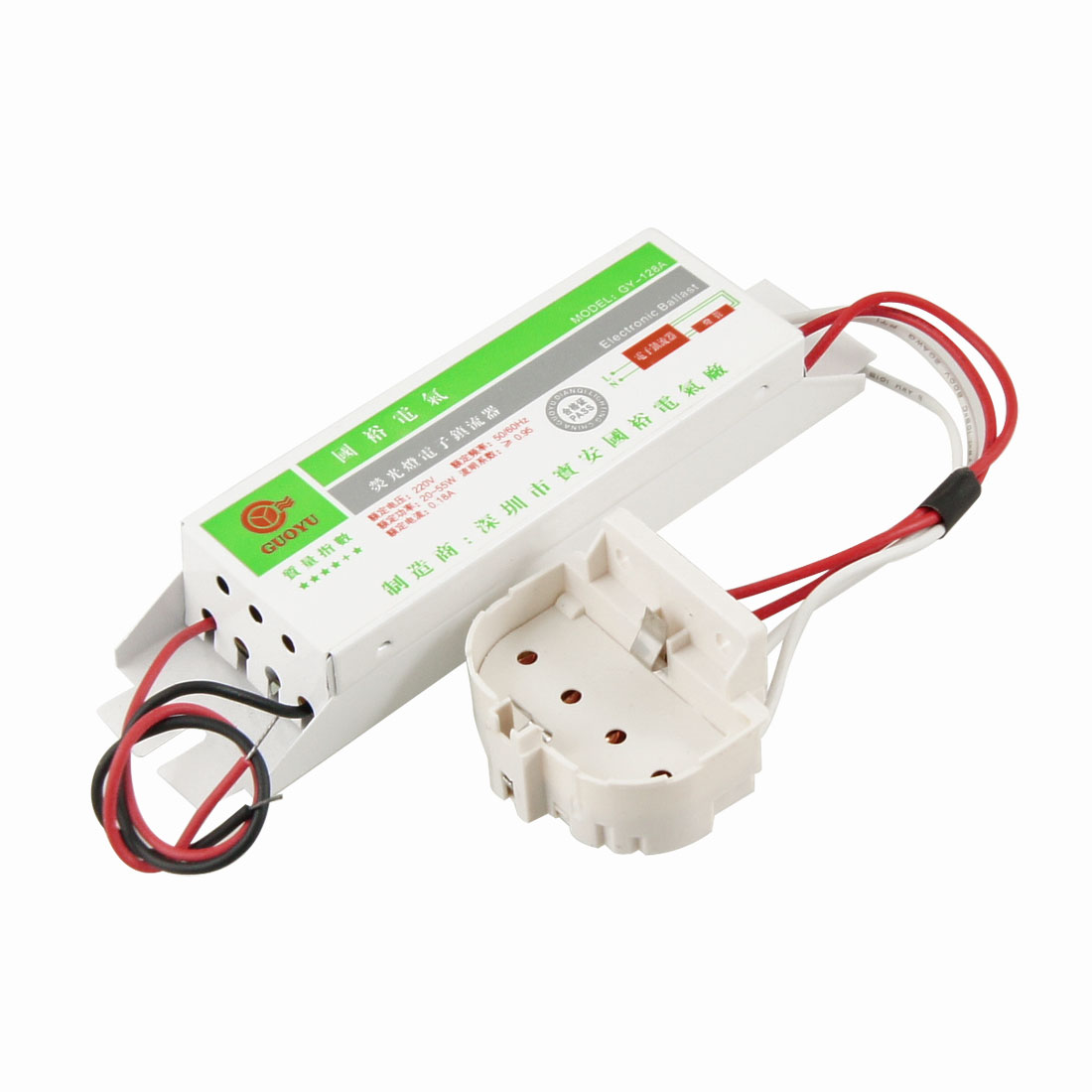 20-55W Energy Saving Fluorescent Light Lamp Ballast AC 220V