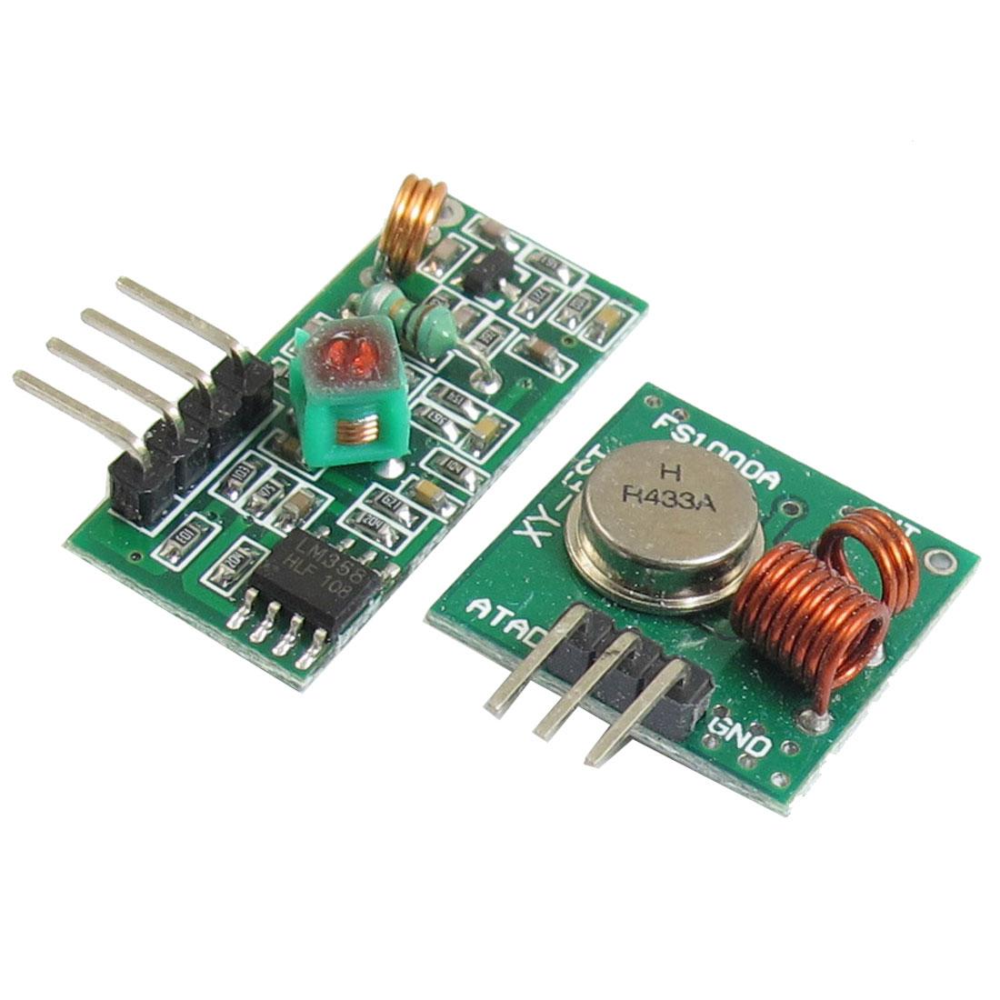 DC 3-12V 10-15mA AM 10mW Remote Control Wireless Send Module 433M
