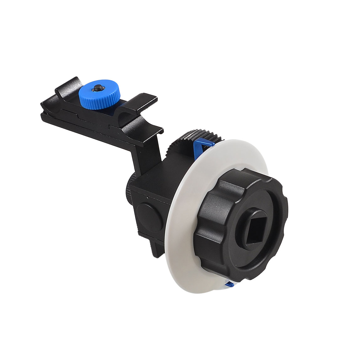 Quick Release DSLR Camera Follow Focus for 15mm Rod Support