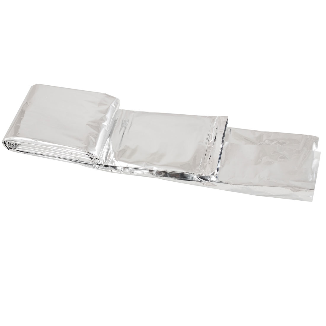 "Outdoor Emergency Rescue Solar Thermal Space Mylar Blanket 51.2"" x 82.6"""