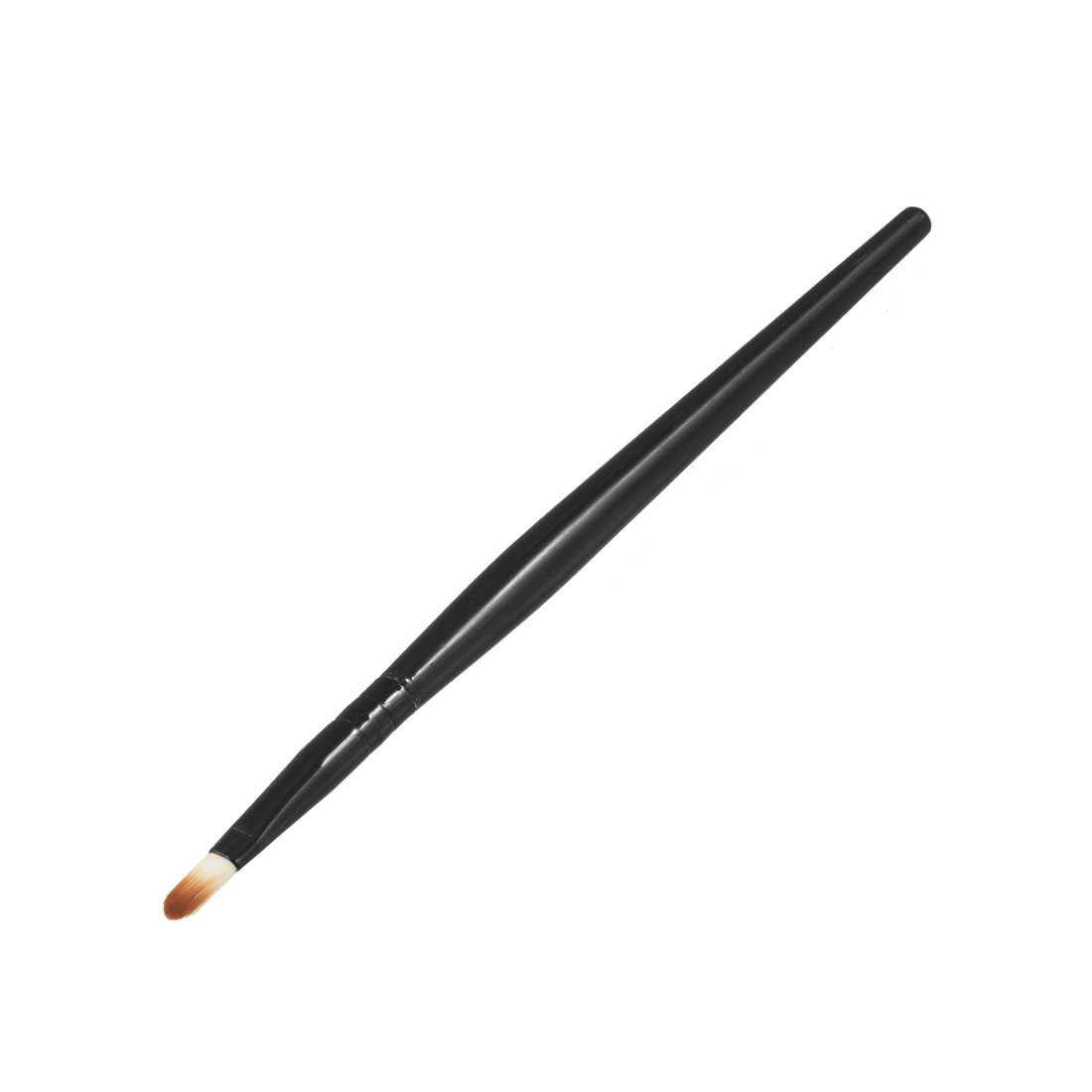 Makeup Cosmetic Tool Black Round Handle Lip Brush for Ladies