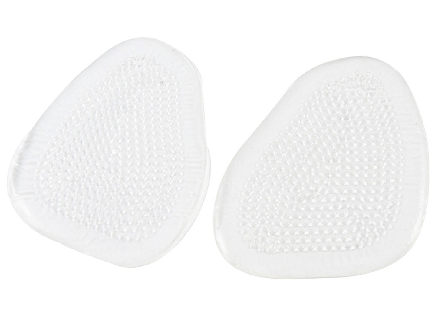 Clear Soft Silicone Gel Massage Insoles Pads Pair for Women