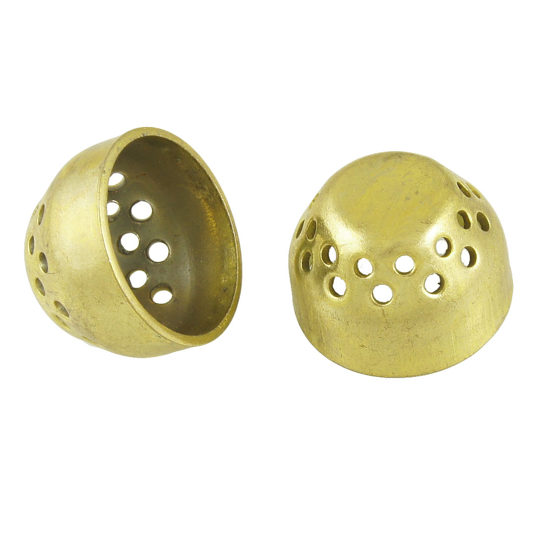 Pair Replacement Gas Stove Component Brass Burner Cap 21mm