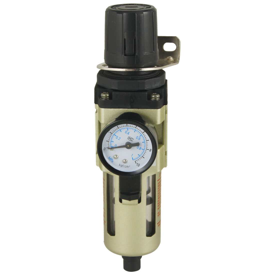 AW3000-03 0-1.0 MPa Gauge Pneumatic Air Source Treatment Pressure Regulator