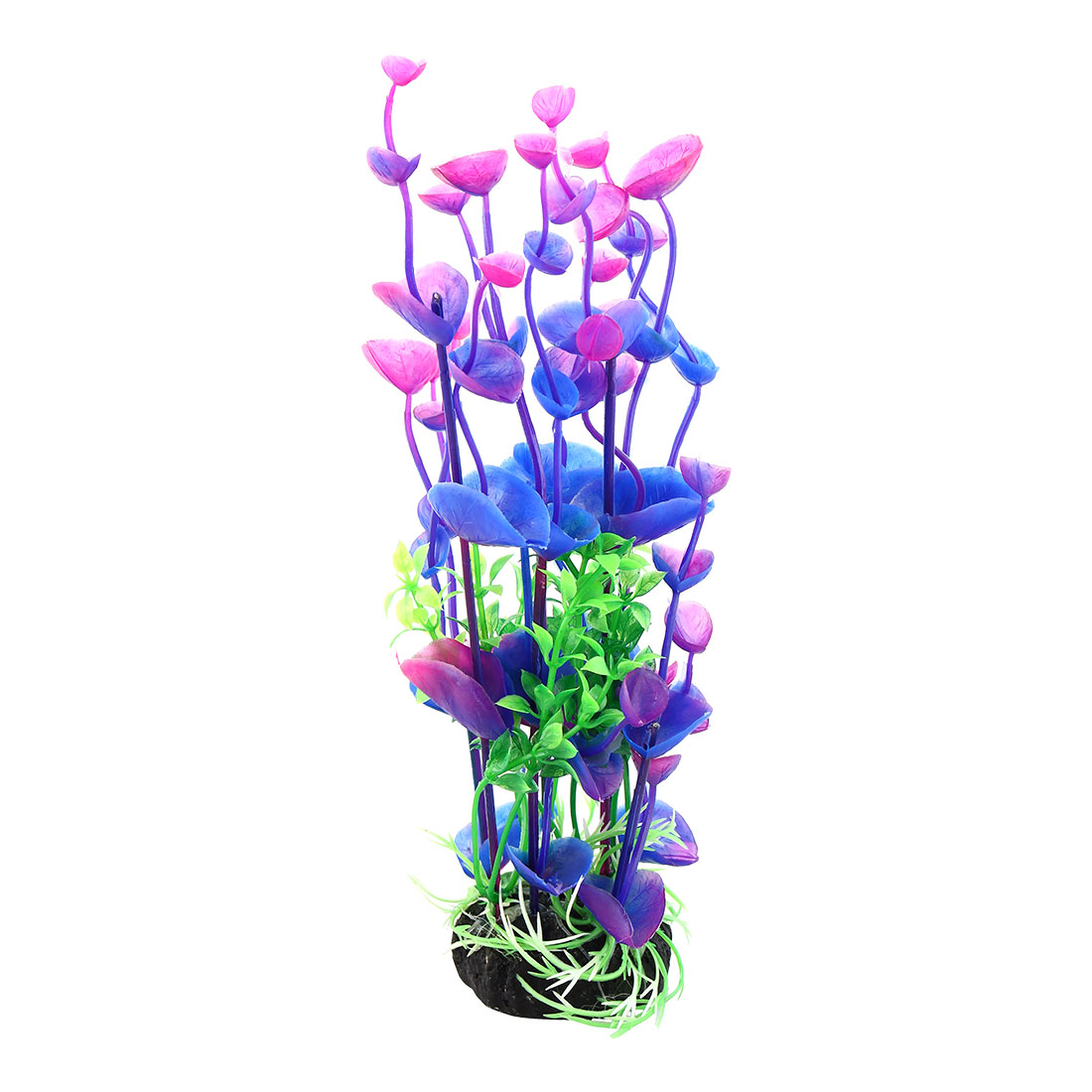 "Purple Green 8.3"" Landscaping Water Plant Decoration for Aquarium Fish Tank"