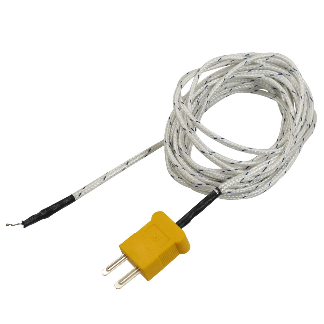 10Ft Length SMPW-K-M Connector Thermocouple Cord -50 to 204 Celsius