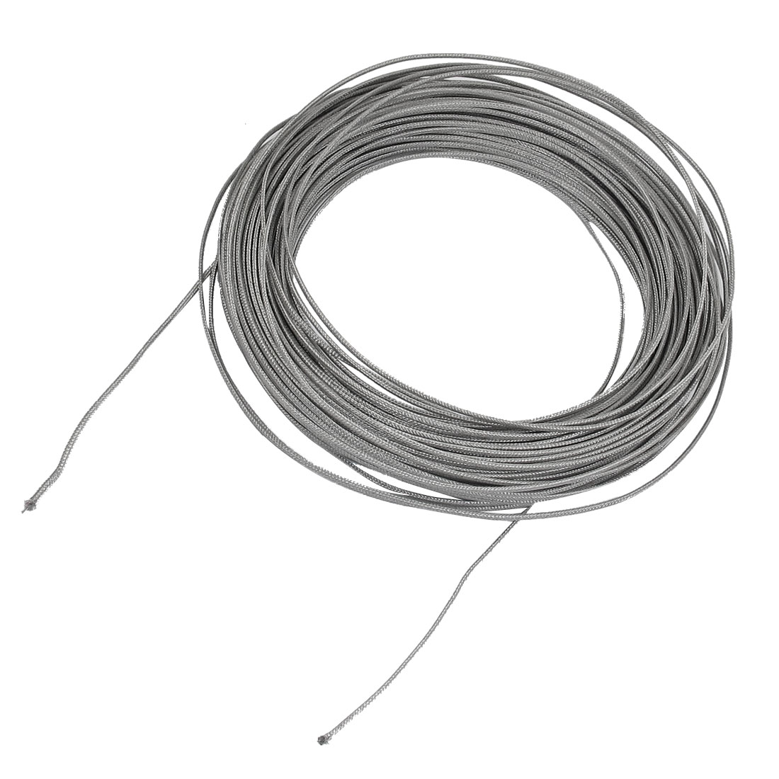 40M Silver Tone Metal K Type Thermocouple Extension Wire