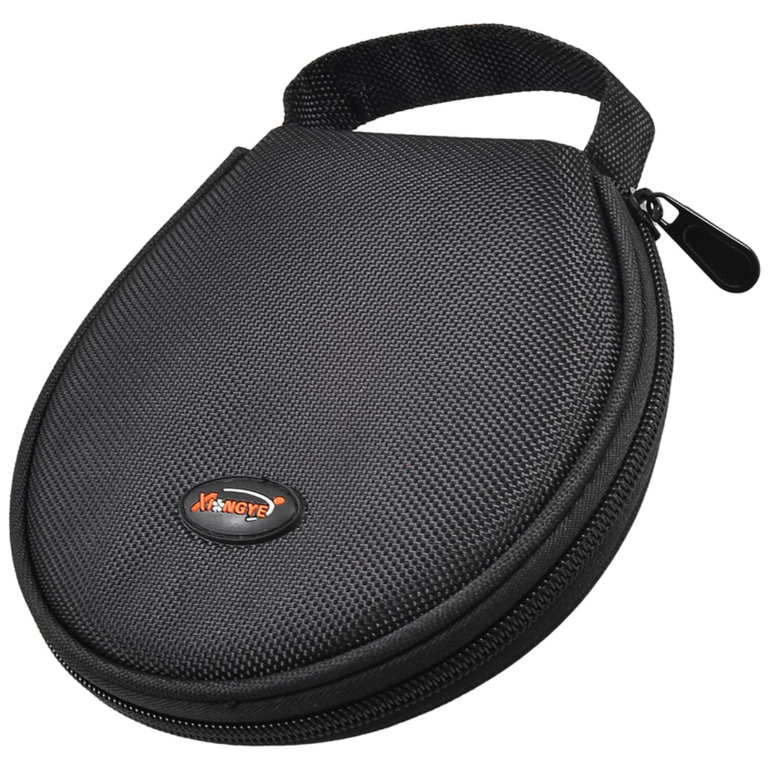 Round 20 Pcs Capacity CD Organizer DVD Carrying Case Holder Black