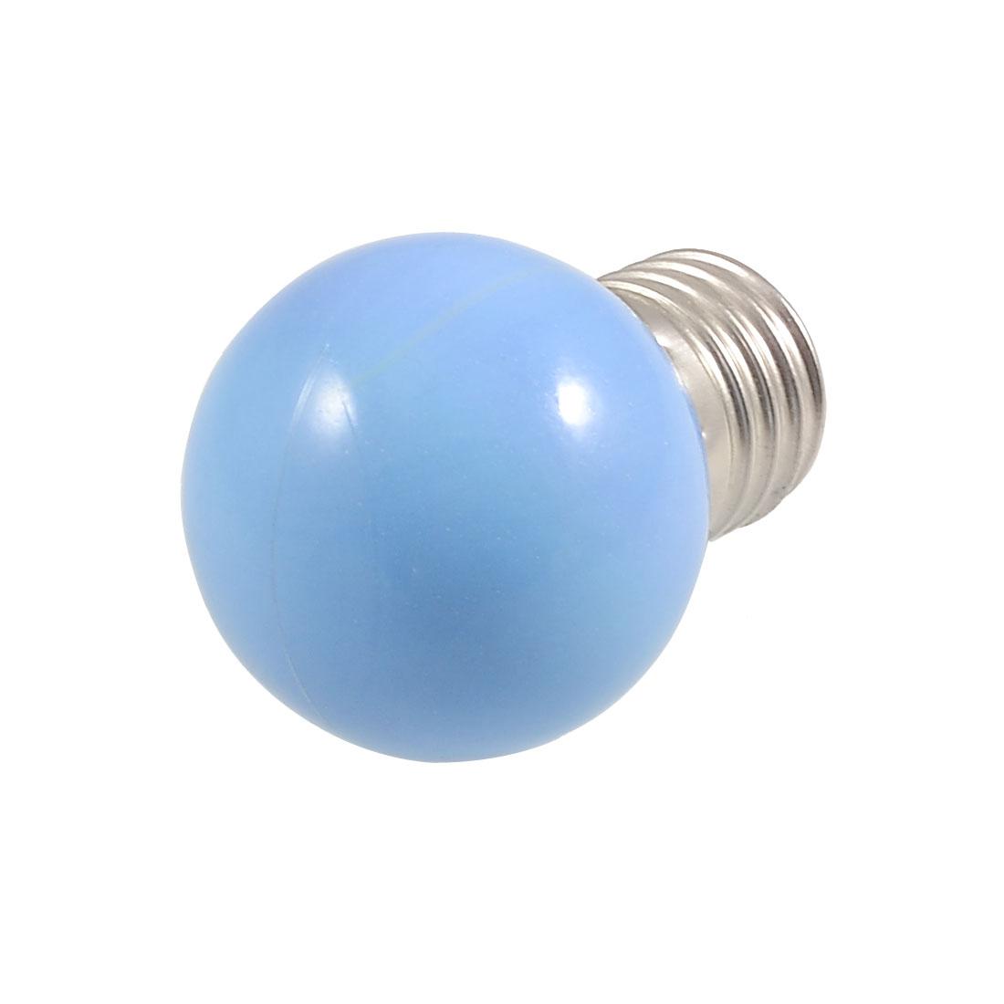 Bedrooms Blue Light E27 Screw Base LED Bulb Lamp AC 110-250V 1/3W