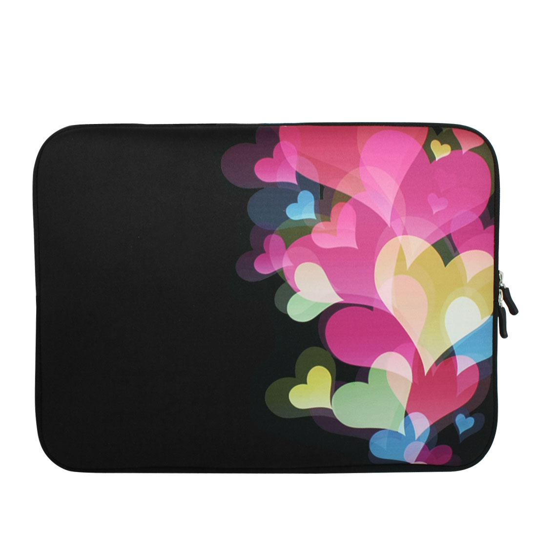 "17"" 17.3"" 17.4"" Colorful Heart Pattern Notebook Laptop Sleeve Bag Case for HP"