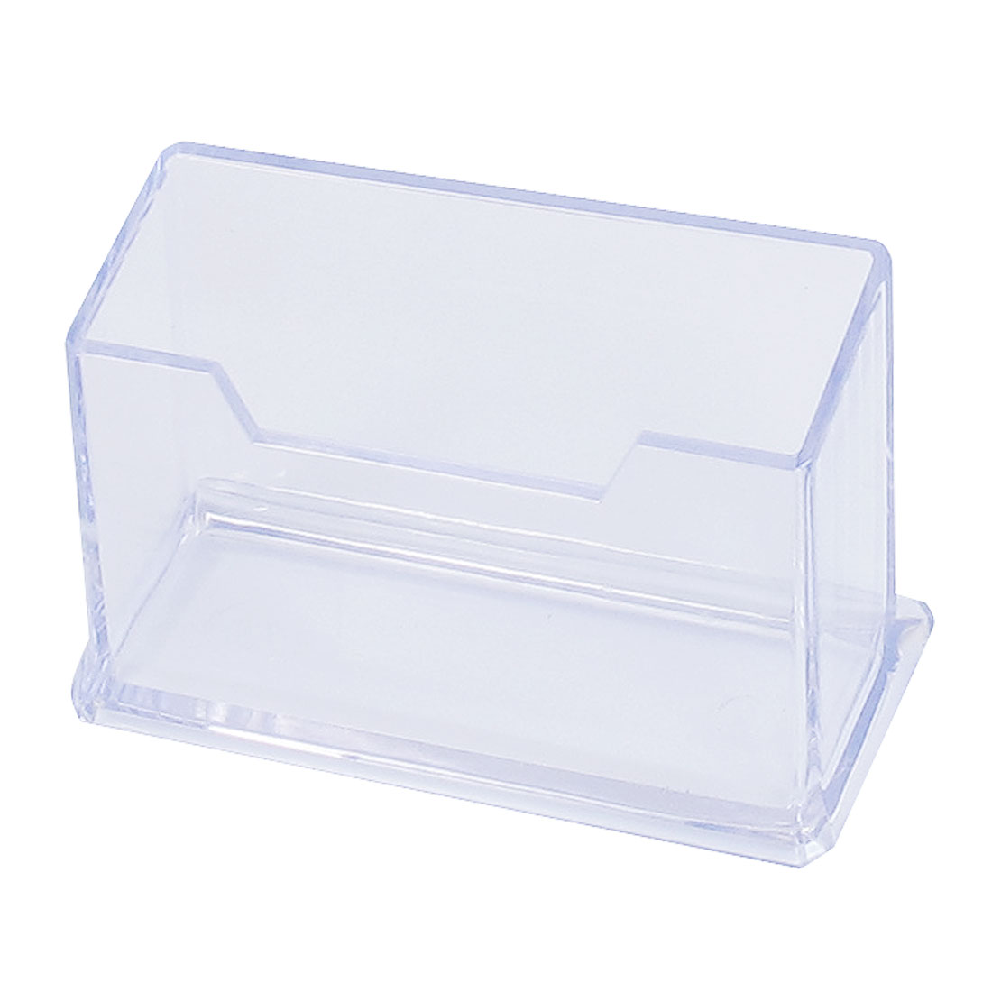 Office Clear Credit Business ID Name Card Protective Case Holder