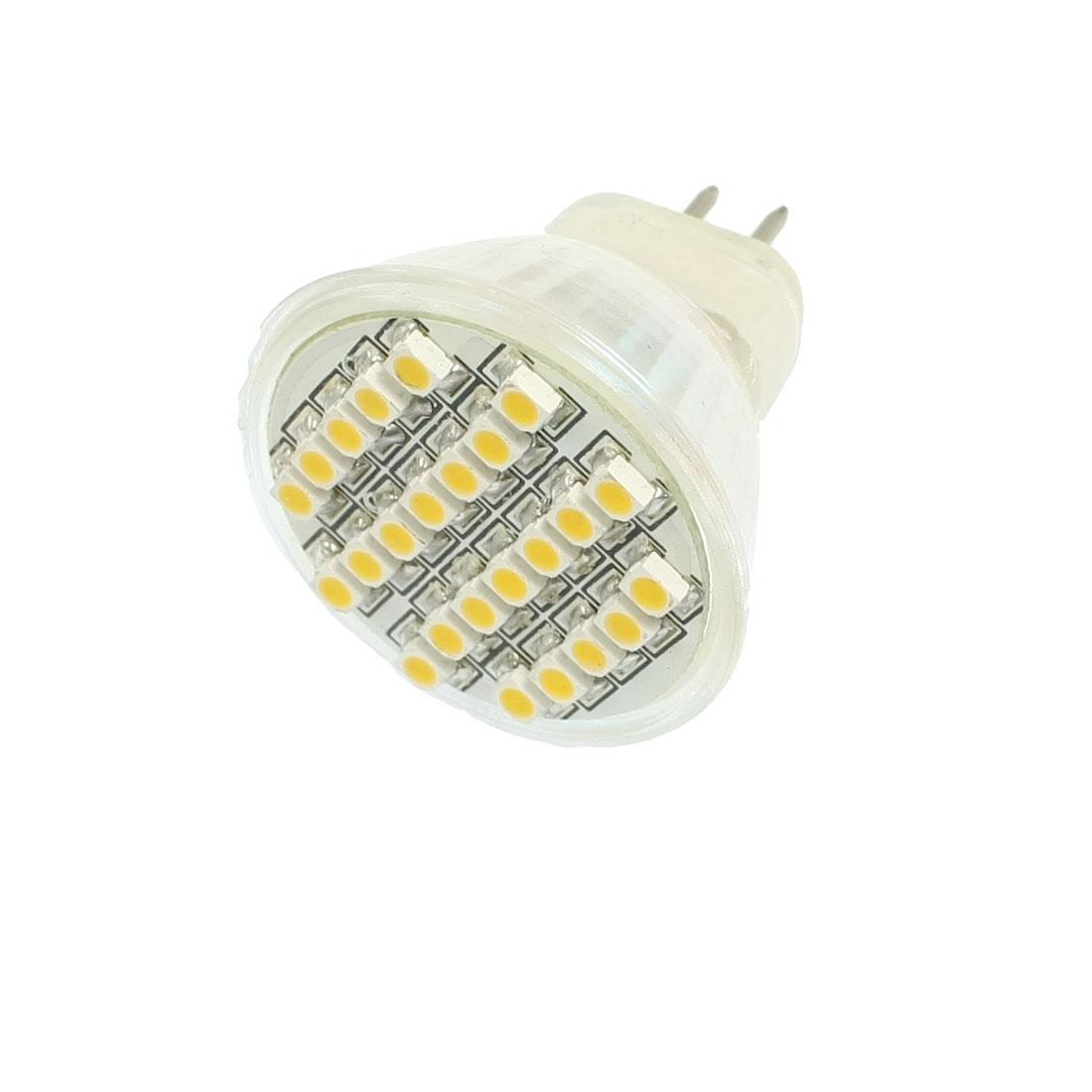 3W Warm White Light Energy Saving MR16 Base 24 SMD LED Corn Bulb 220V